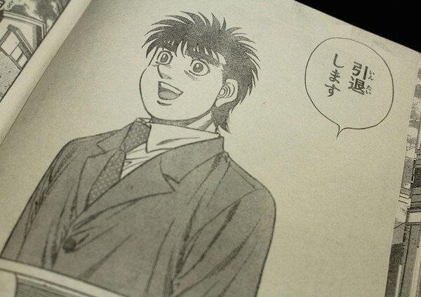 Hajime no Ippo's Ippo Makunouchi makes shocking retirement announcement
