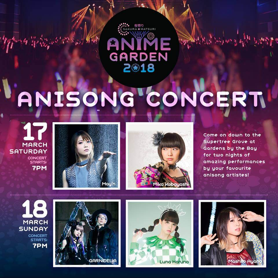 Check Out the Amazing Sakura Matsuri: Anime Garden Concert Line-up!