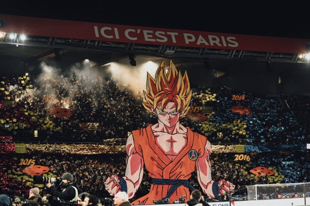 Son Goku helps lead French football team, Paris Saint-Germain to victory