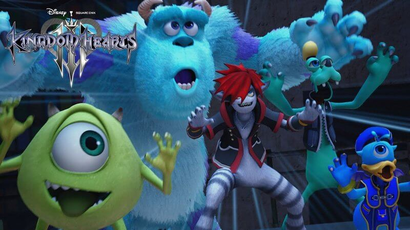 Kingdom Hearts III to feature Monsters Inc world and new Utada Hikaru theme song