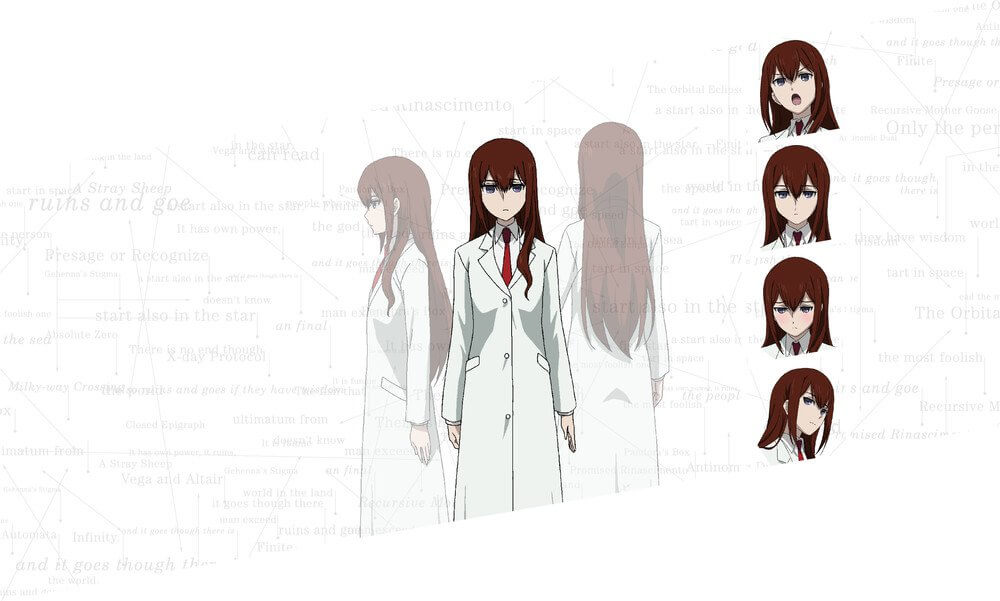 Steins;Gate 0 TV anime reveals new visuals, character designs, and cast