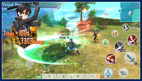 Sword Art Online: Integral Factor mobile game gets international release