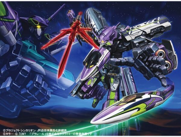 Evangelion Shinkansen to appear in Shinkalion TV anime before ending service in May