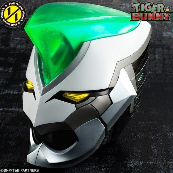 Bandai reveals new 1/1 scale Wild Tiger helmet from Tiger and Bunny