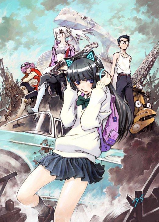 Yoshiyuki Sadamoto illustrates new visual for FLCL 2 and 3 films