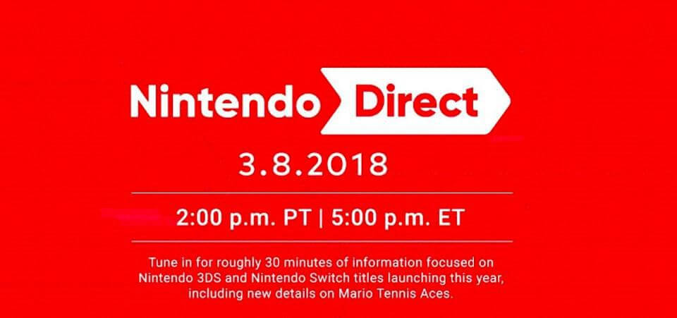 Highlights from the March 2018 Nintendo Direct