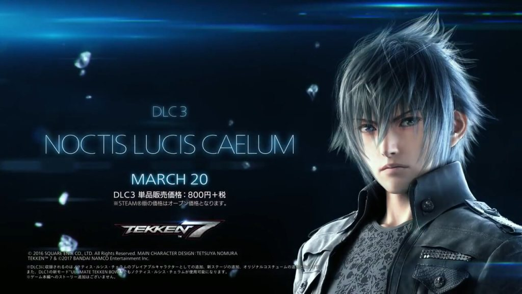 Tekken 7 introduces Noctis from Final Fantasy XV in new launch trailer