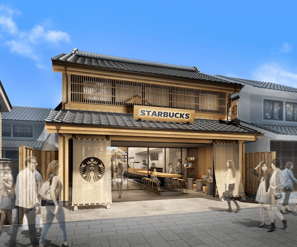 Starbucks gets Edo-style charm with their latest store in Japan