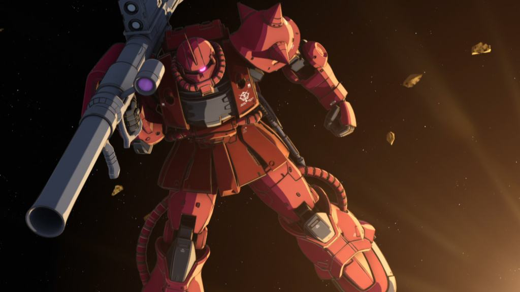 Here are the first 15 minutes of Gundam the Origin VI: Rise of the Red Comet