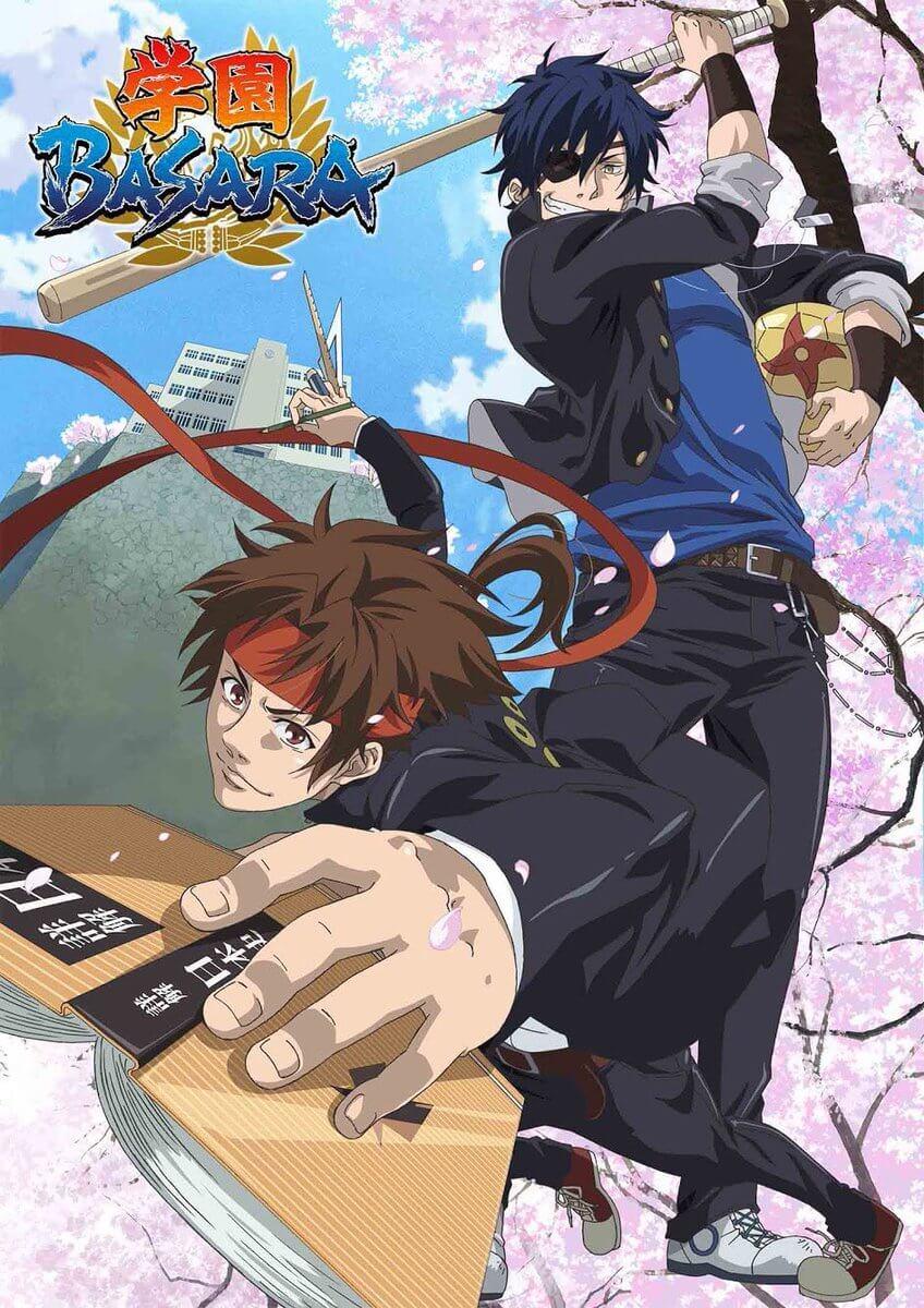 Sengoku Basara gets high school spin-off TV anime, Gakuen Basara