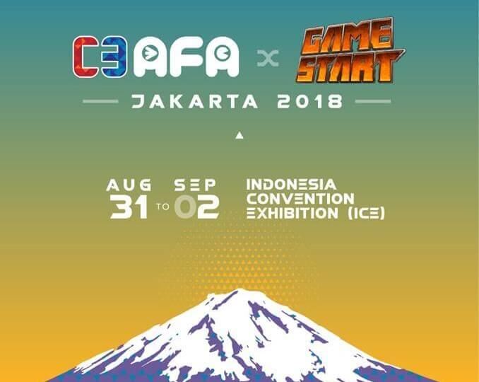 Indonesia! Get Ready for C3 AFA Jakarta x Game Start 2018!
