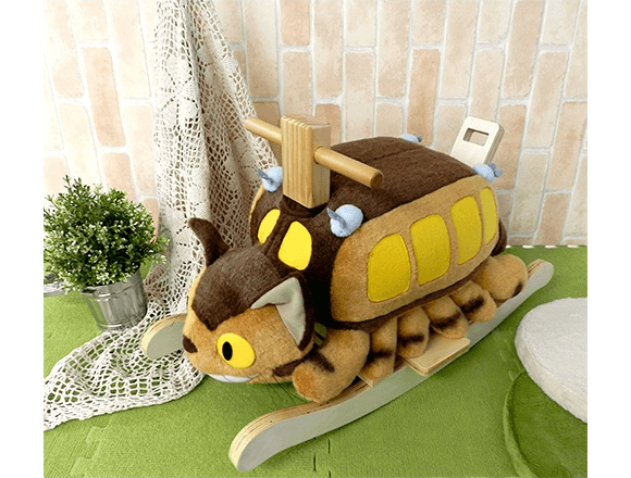 Have your kid ride the Catbus (sort of) with the official Catbus rocking horse