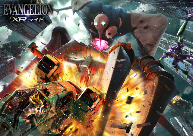 New Evangelion Ride Slams into USJ from 6th July