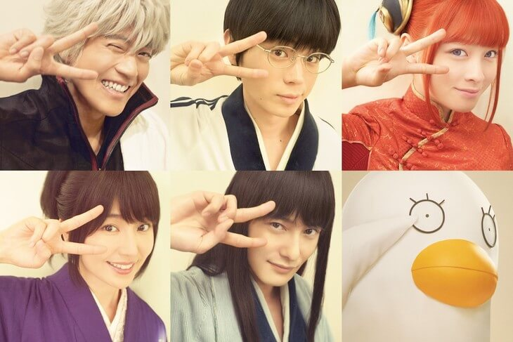 Gintama 2 reveals even more cast members (and Elizabeth too!)