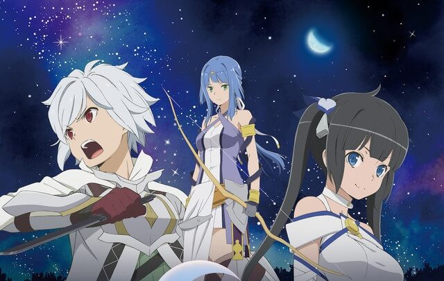 "DanMachi Movie ""Arrow of the Orion"" Gets 2019 Playdate"