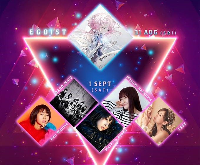 Get to Know our C3 AFA Jakarta I Love Anisong Guests: EGOIST, Ami Wajima, and BAND-MAID