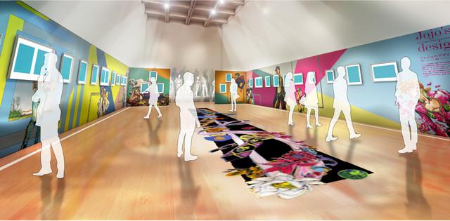 Hirohiko Araki JoJo Exhibition6