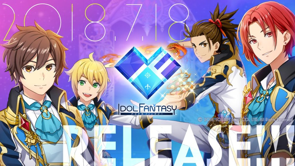 """Square Enix Releases New Mobile Game """"IDOL FANTASY"""""""