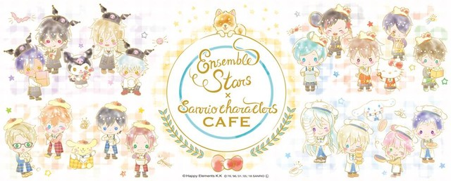 """Ensemble Stars"" Collaboration Café with Sanrio Japan to Open in Tokyo and Osaka"