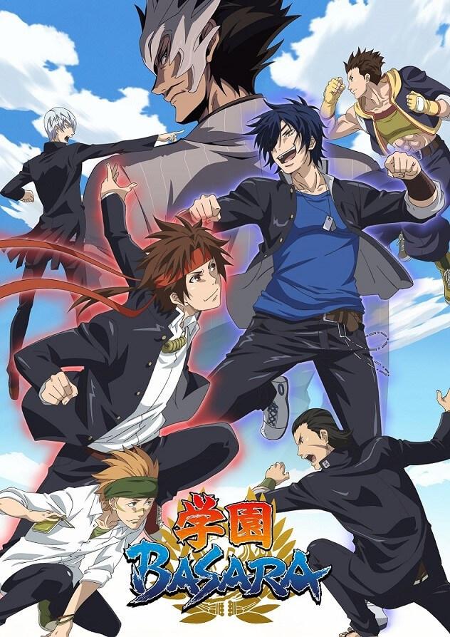 Sengoku Basara school spin-off anime, Gakuen Basara, reveals first PV
