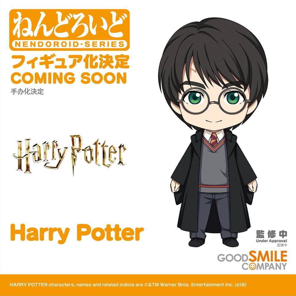 Harry Potter Nendoroids?! Yes, Good Smile Company will be making them!
