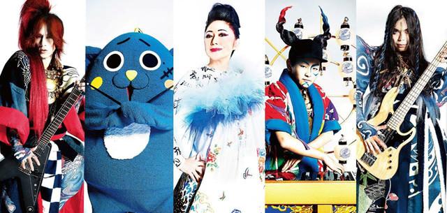 "Drumming Mascot ""Nyango-Star"" Records Single with LUNA SEA's Sugizo and RIZE's KenKen"
