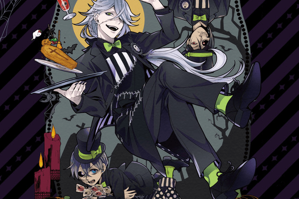 """""""Black Butler"""" Opens Halloween-themed Collaboration Cafe in Harajuku"""