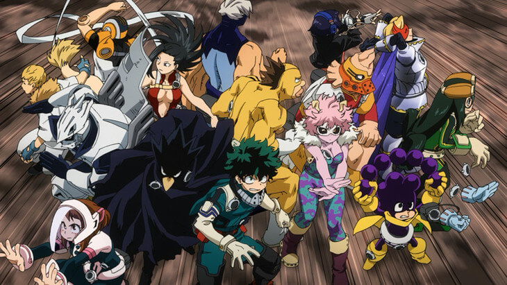 My Hero Academia Season 3's second half introduces new characters in latest PV