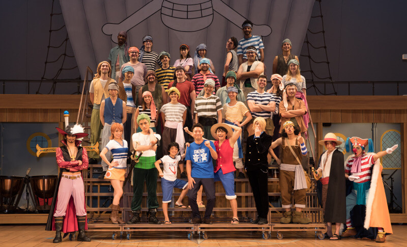 One Piece Oto Utage musical reveals cast in costume