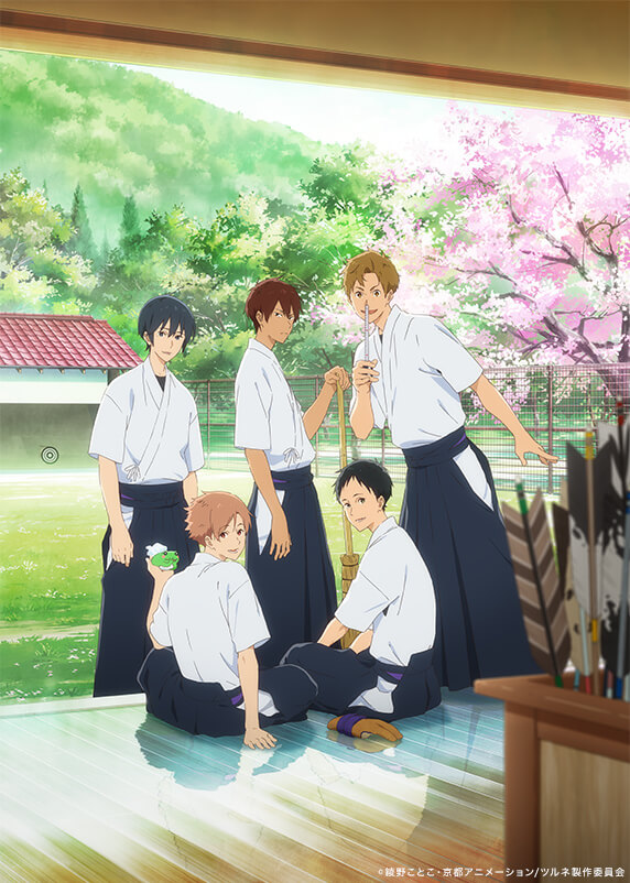 KyoAni reveals new PV and visual for archery anime, Tsurune