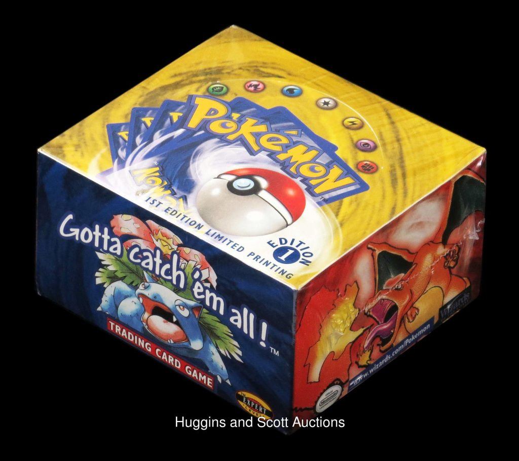 Auction for Vintage Box of Pokemon TCG Boosters Ends at US$94K