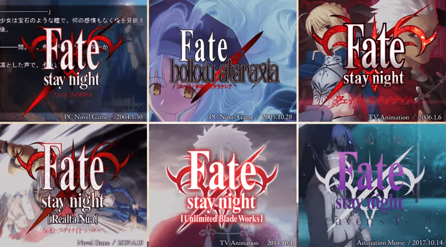 'Fate Essentials' takes a look at 14 years of Fate for Fate/Grand Order 3rd anniversary