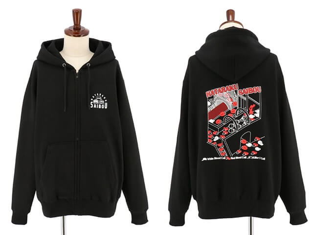 "ACOS Releases ""Hataraku Saibou"" Hoodies Just in Time for Fall!"