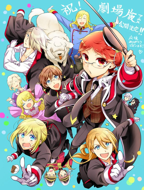 The Royal Tutor anime film reveals trailer