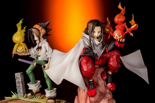 """Kotobukiya Announces ART-FX J """"Shaman King"""" 20th Anniv Figures!"""
