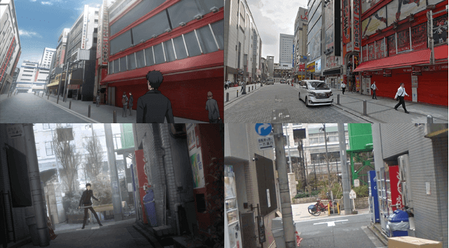 The real-life locations from Steins;Gate 0