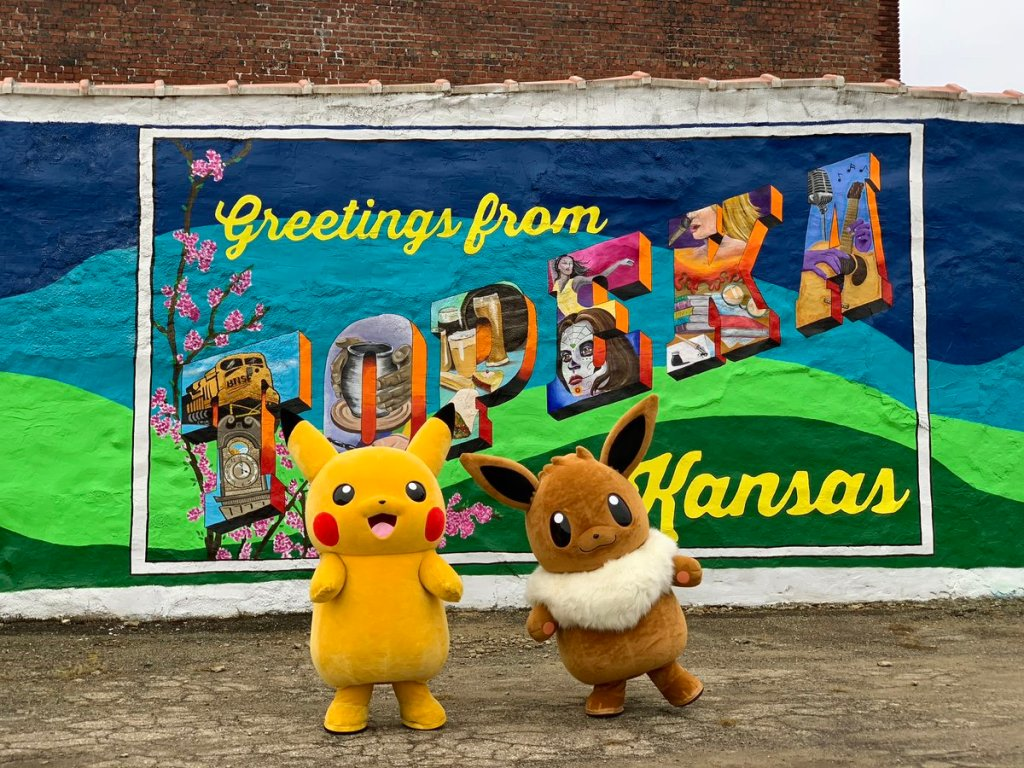City of Topeka, Kansas changes name to ToPikachu to celebrate Pokemon Let's Go Pikachu/Eevee release