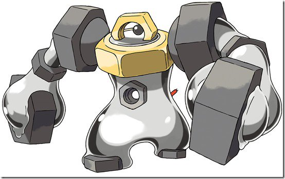 Pokemon reveals Meltan will evolve into Melmetal