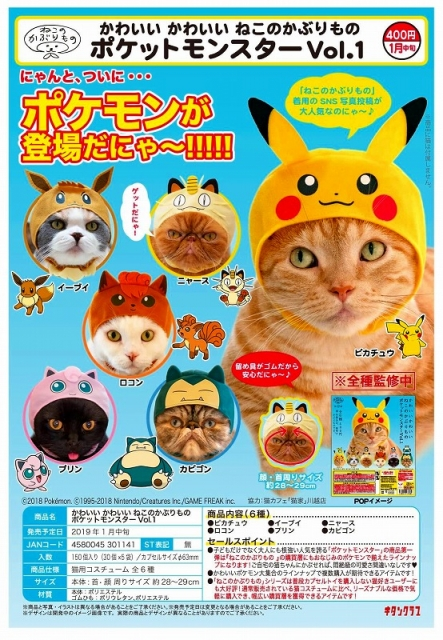 Dress up your pets as Pokemon this Halloween!