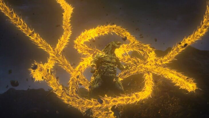 Godzilla: The Planet Eater anime film teases Godzilla vs. Ghidora fight in new trailer
