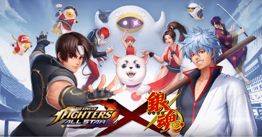 "Mobage ""The King of Fighters ALLSTAR"" Announces ""Gintama"" Collab!"
