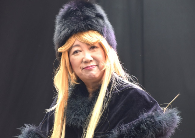 Tokyo's governor just cosplayed Galaxy Express 999's Maetel