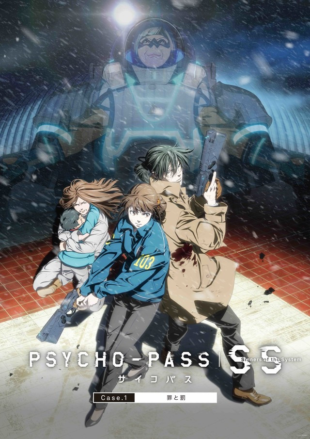 PSYCHO-PASS: Sinners of the System Film Trilogy reveals key visuals and cast for each film