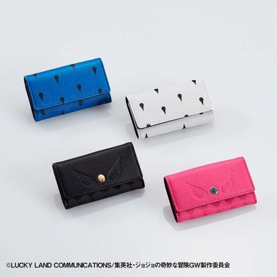 Have some new stylistic wallets from Jojo's Bizarre Adventure: Golden Wind