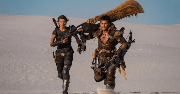 """Live-action Monster Hunter film reveals Tony Jaa in costume as """"The Hunter"""""""