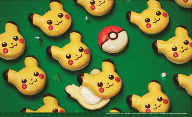 Mister Donut Chooses You, Pikachu, for Christmas Specialty Offerings!