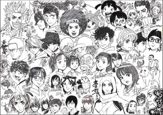 Watch: 37 mangaka work together to draw a special poster in a new video