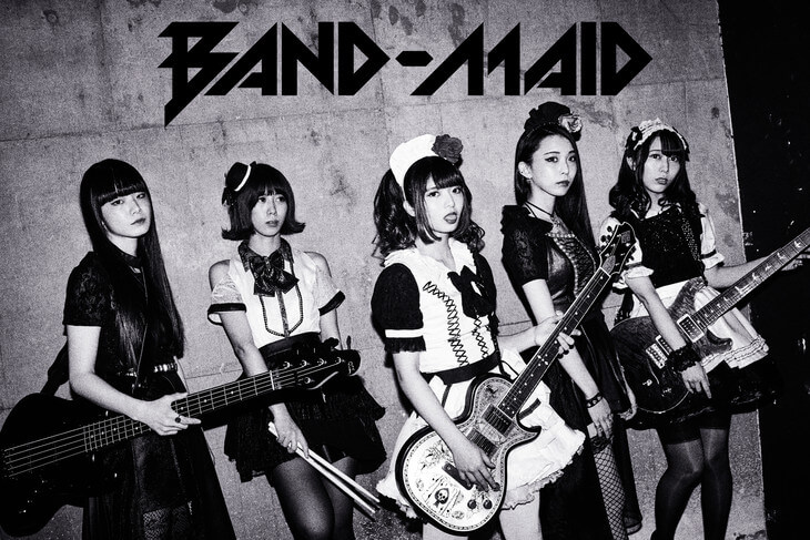 "BAND-MAID to Sing Opening Theme of New Drama ""Perfect Crime"""