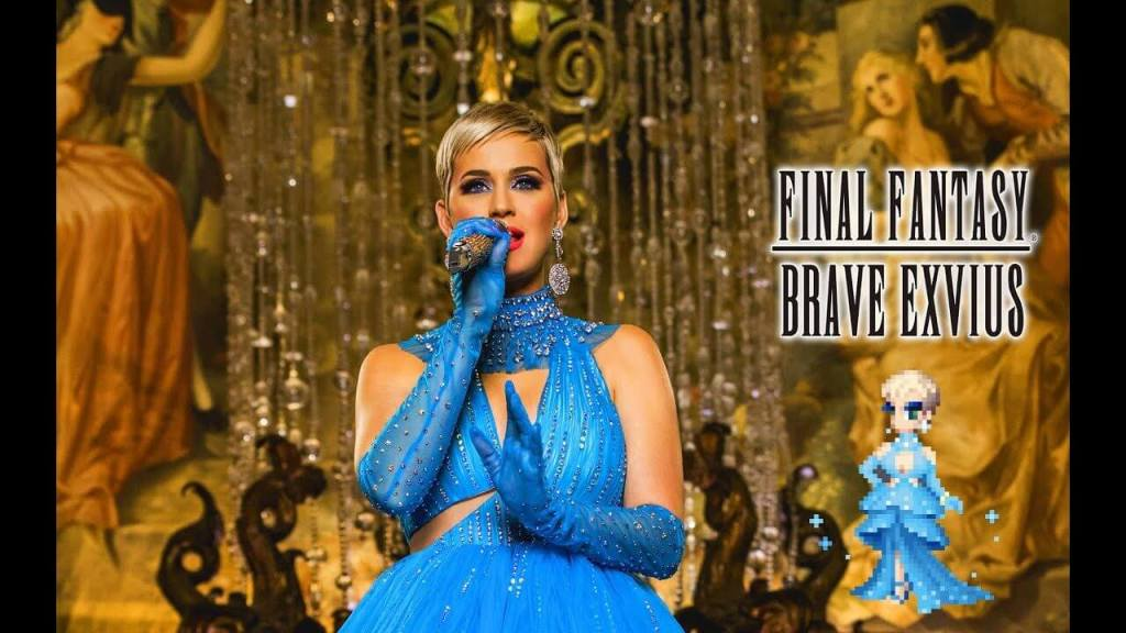 Katy Perry to appear in Final Fantasy Brave Exvius