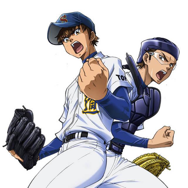 Ace of the Diamond Act II TV anime reveals new key visual
